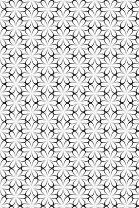 花朵纹理背景素材 AI