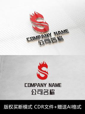 S字母logo标志商标 CDR