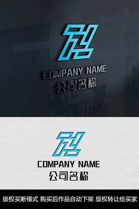 Z字母logo标志商标 CDR