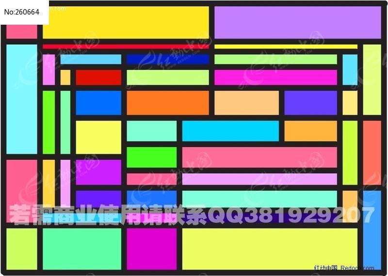 方块抽象画