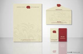 原创企业信封信纸名片设计