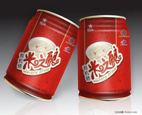米之酿厅装饮料设计