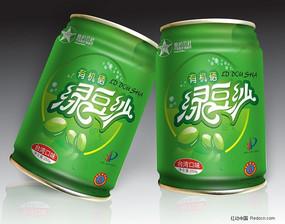 绿豆沙易拉罐 厅装饮料包装