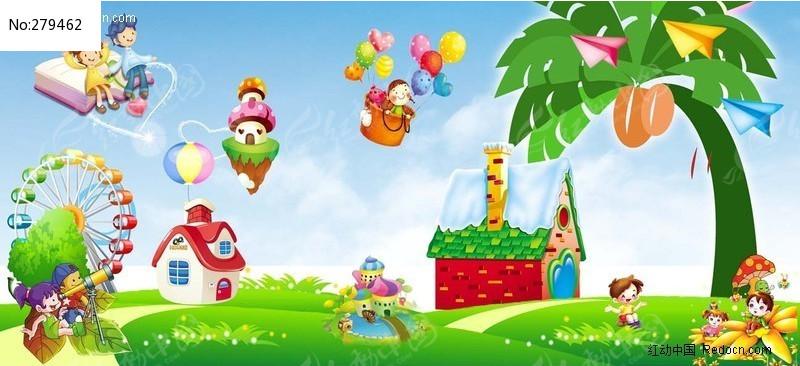 幼儿园儿童节图片素材