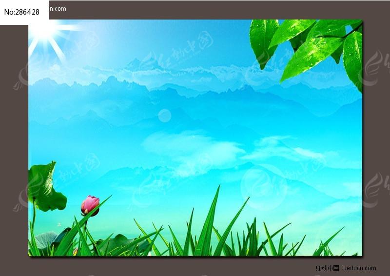 高清晰ps风景背景素材模板下载