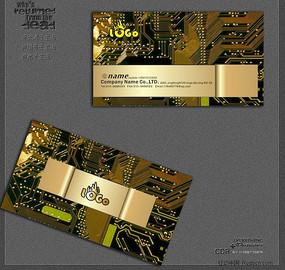家电维修名片设计模板CDR CDR