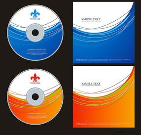 动感线条企业光盘 CDR