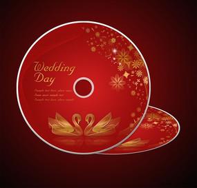 婚庆婚礼光盘设计psd分层源文件