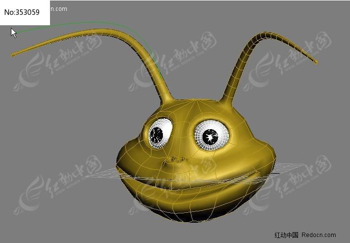 昆虫头3d模型图片
