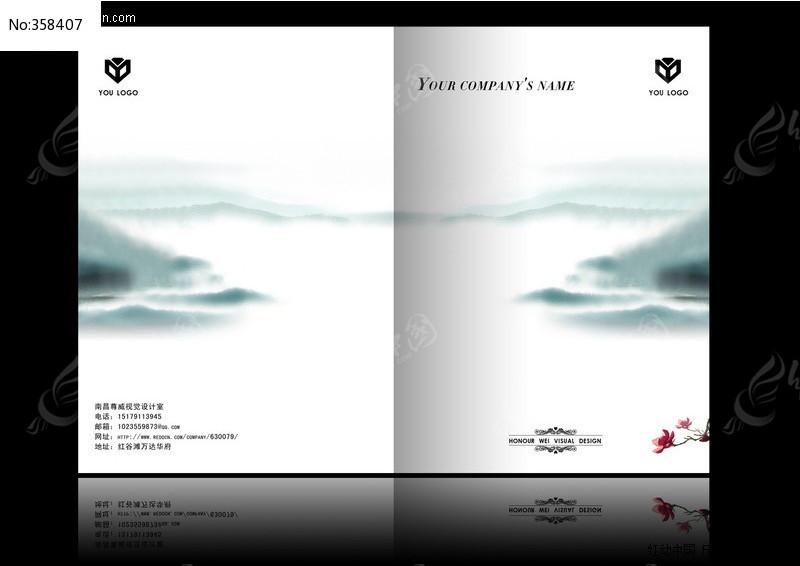 封面设计 封面素材 封面素材库 封面封底 封面设计模板 脸谱 古典画册图片