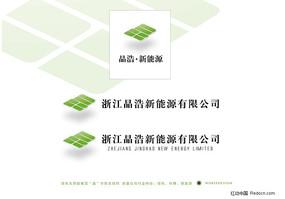 新能源科技企业标志素材