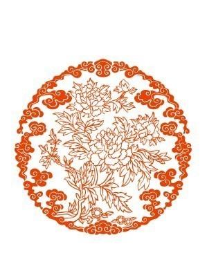 原创设计稿 卡通图片/插画 花纹插画 牡丹花团  请您分享: 红动网提供