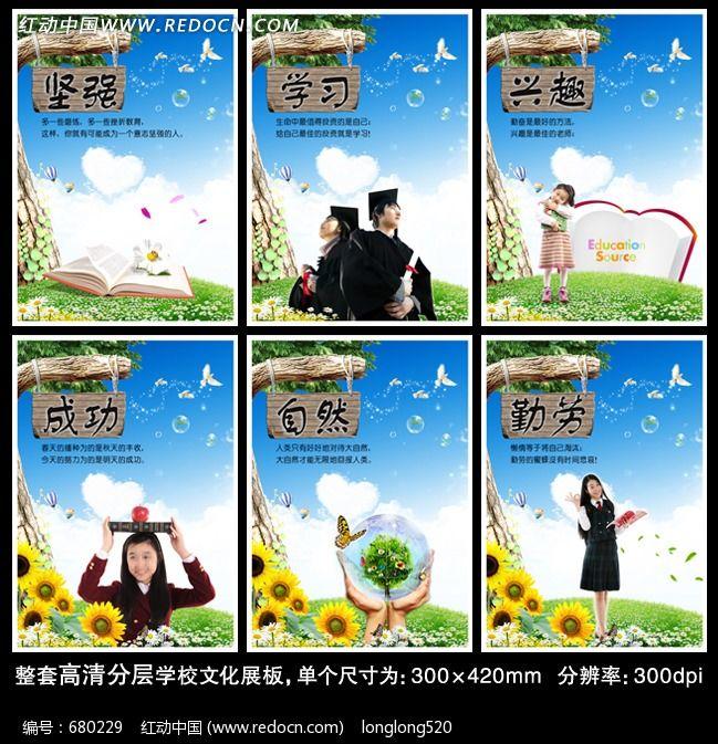 学校文化海报 学校板报 学校宣传栏 校园 背景图片 素材 文化挂图 文图片