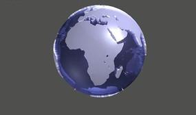 动感透明地球flash源文件 FLA