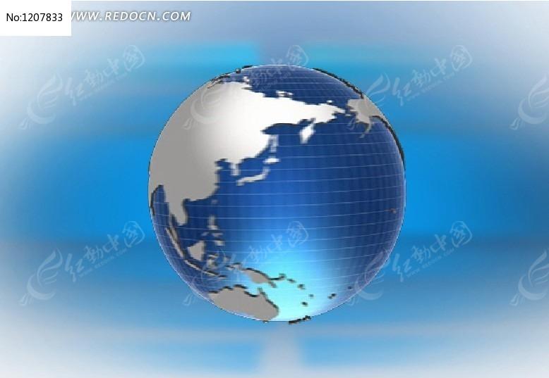 动感蓝色地球flash源文件图片