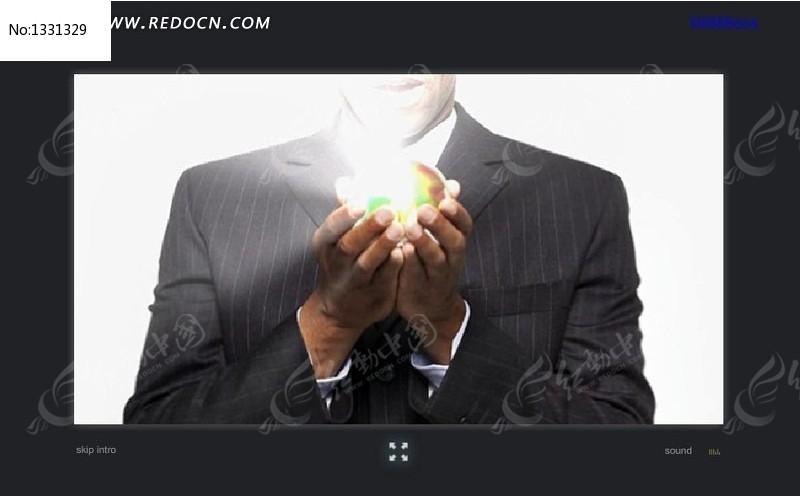 企业文化宣传广告网站flash引导页图片
