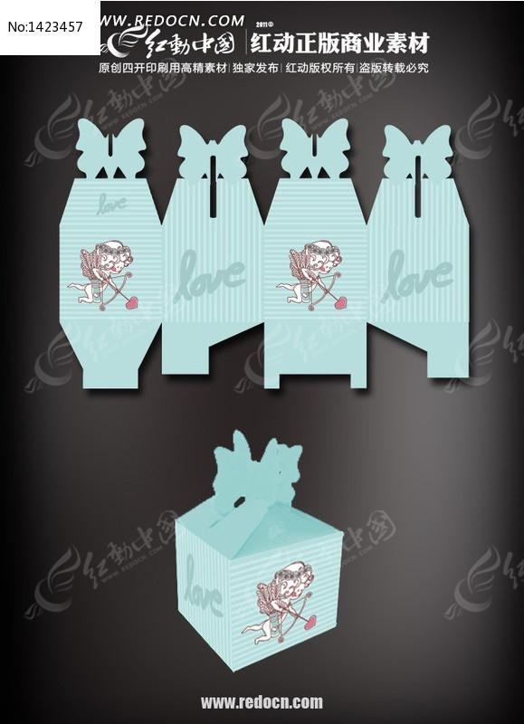 蓝色包装盒设计_包装设计/手提袋图片素材