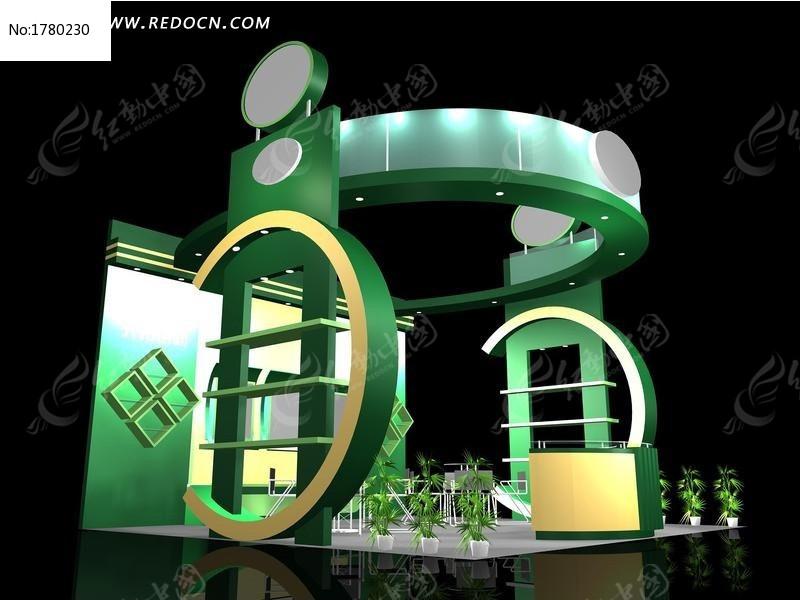 3D设计模型 3DMAX 模型 灯光 三维设计 展厅 展示 展示设计 展位 展