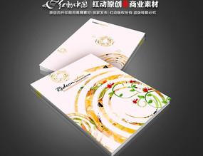 教育画册封面 花卉圈圈封面