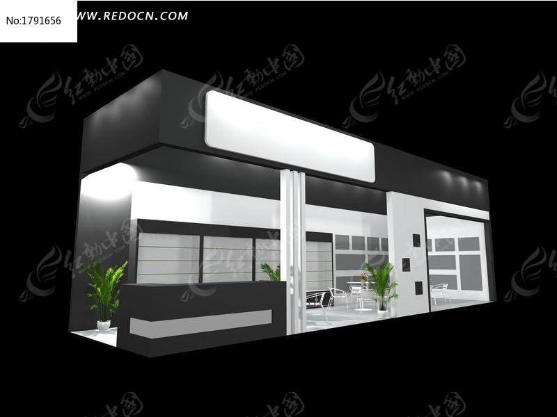 黑色化妆品模型3d展厅v黑色模板下载(编号:179平面设计清单器材图片