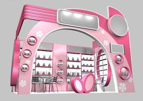 化妆品展厅机械v展厅齿厚如何取整图片