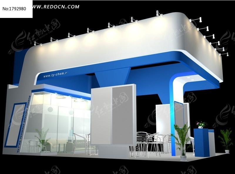 3DMAX 模型 灯光 三维设计 展厅 展示 展示设计 展位 展会 立体建筑