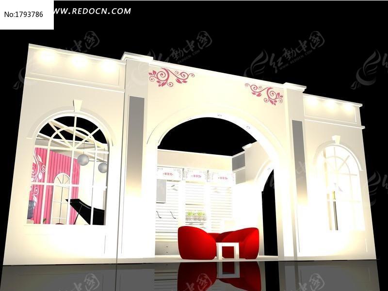 标签:创意展台3d模型设计 3D展厅 展览设计 3D展示造型 效果图 3D图片