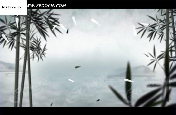 中国风 水墨 山水图片