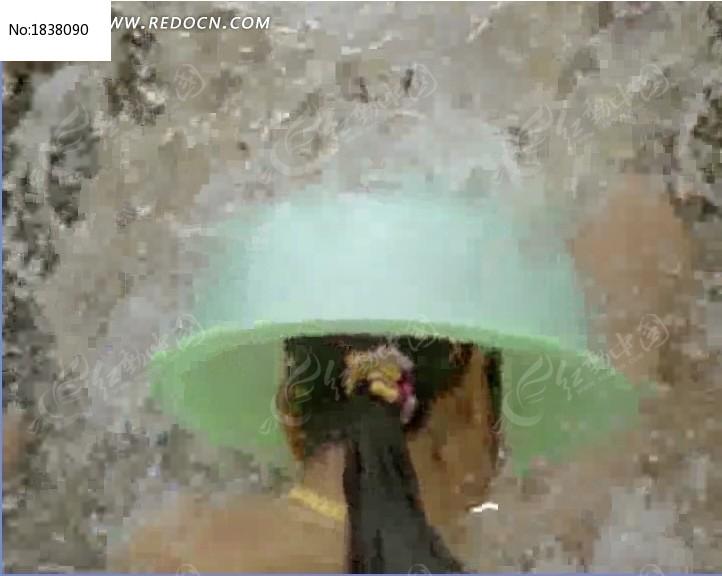 傣族泼水节实拍视频素材
