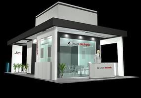 时尚个性展厅设计模型素材 售楼处展厅布置设计3d模型 地球c4d素材3d图片