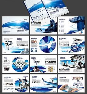 水墨公司宣传画册psd图片