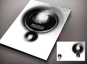 黑洞封面 PSD