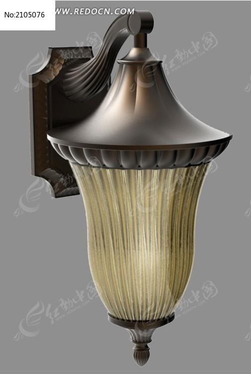 欧式壁灯灯具3d文件模型(犀牛模型)图片
