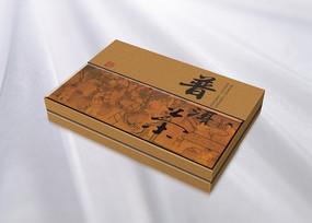 古代制茶场景普洱茶叶包装