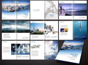 简约大气企业画册 PSD