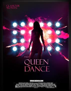 派对女王夜店海报