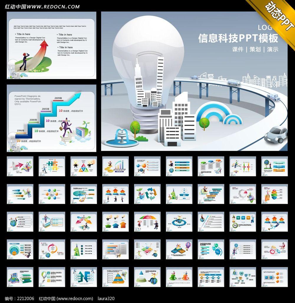 信息科技ppt模板