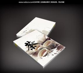 书籍/菜谱 封面设计 简约茶文化宣传册封面设计  欧式简约小清新茶图片