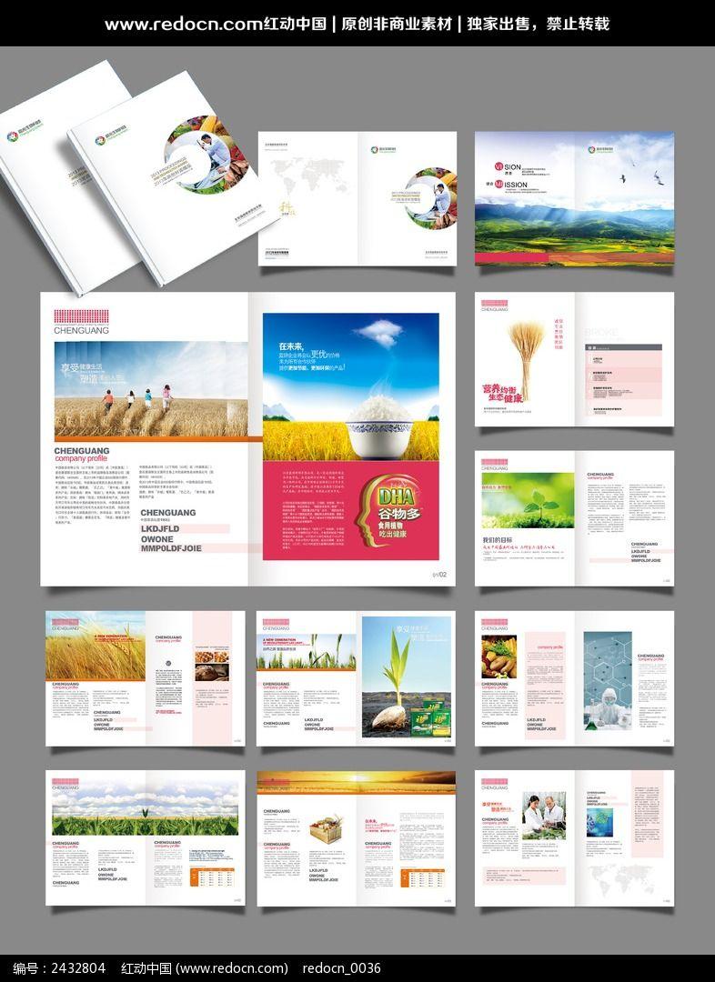 食品公司宣传册psd素材下载_企业画册|宣传画册设计图片