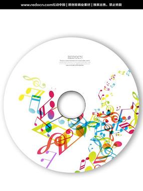音乐CD光盘 PSD