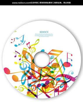 音乐光盘设计 PSD