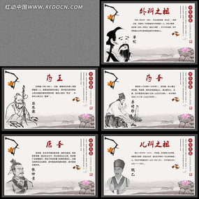 中华名医宣传展板