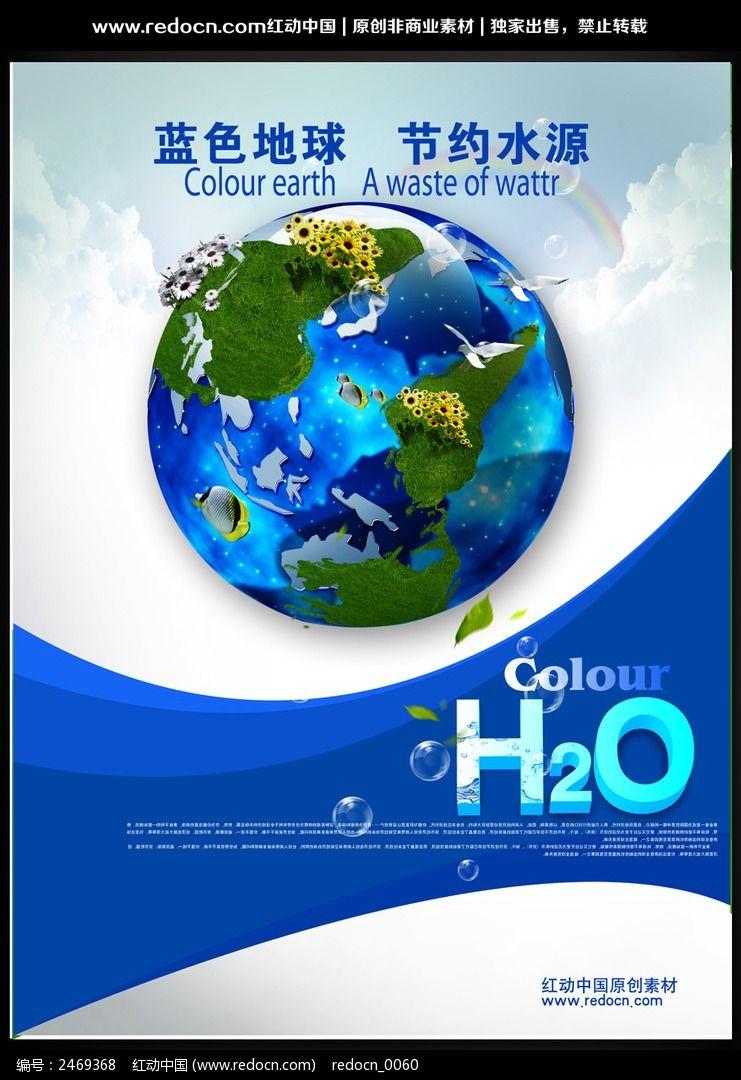 保护水资源海报设计