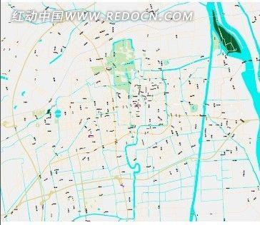 扬州市地图_海报设计/宣传单/广告牌图片素材