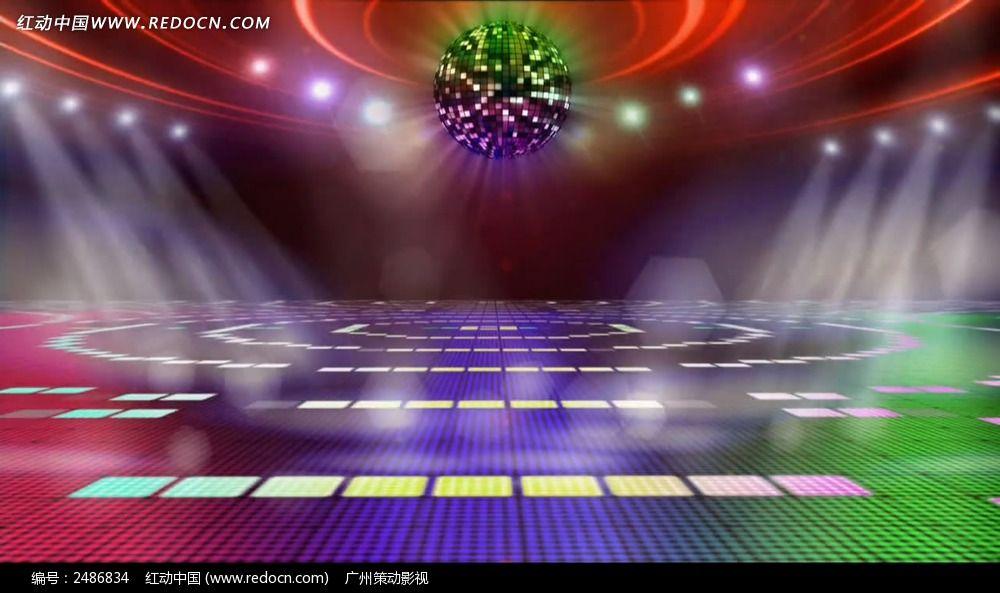 演出舞台灯光led视频背景mov素材下载