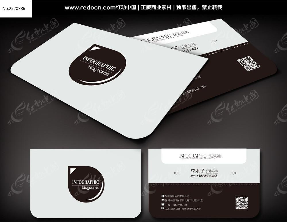 个性商务名片设计_名片设计/二维码名片图片素材