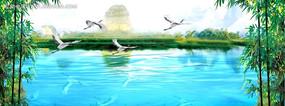 美丽风景动态视频背景