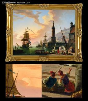 超高清古典油画电子稿