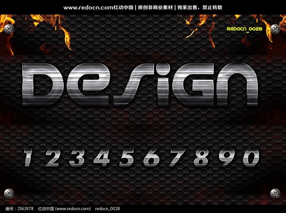 �9o#��.�a�ykf9�h_0-9铁质感效果字体