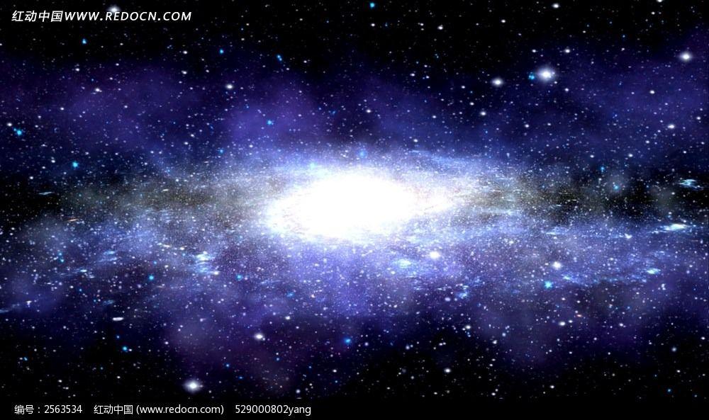 唯美银河视频背景素材